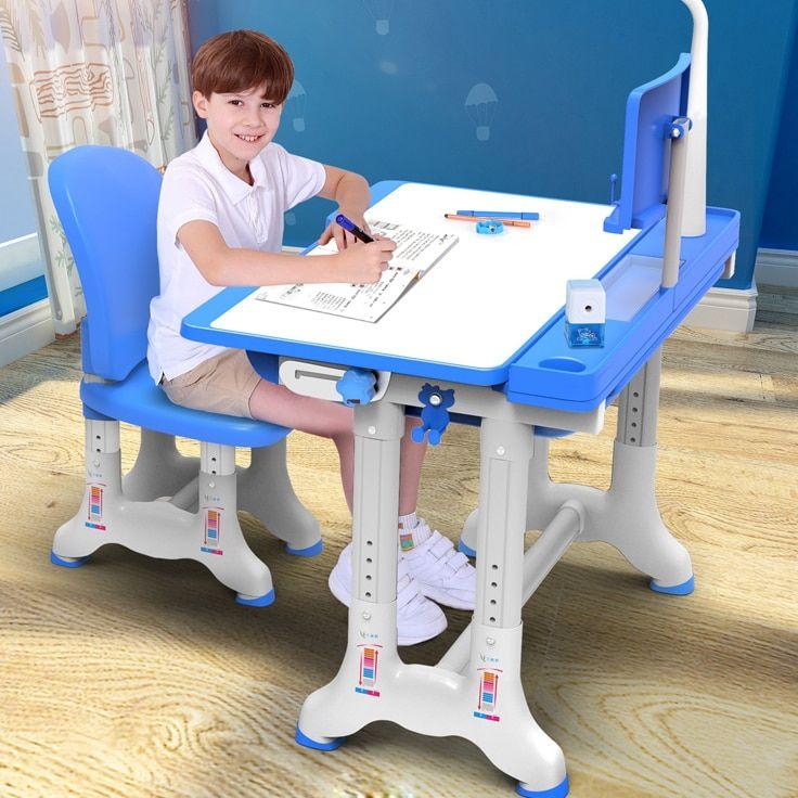 Multifunctional Kid Study Table Ergonomic Children Homework Desk Student Adjustable Desk And Chair Combination Kids Study Table Kids Study Kids Homework