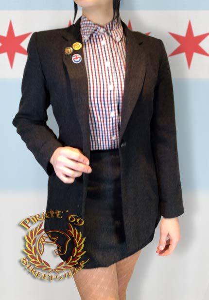Smart Skinhead Girl Suit. London skinhead blog at https://creaseslikeknives.wordpress.com/