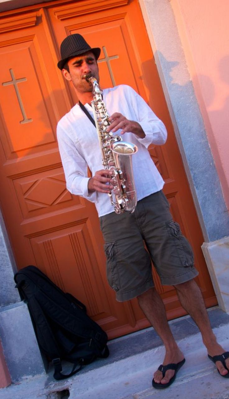 Our concierge can arrange for you the live music of your choice at Oia Mansion, Oia village, Santorini island, Greece - www.oiamansion.com