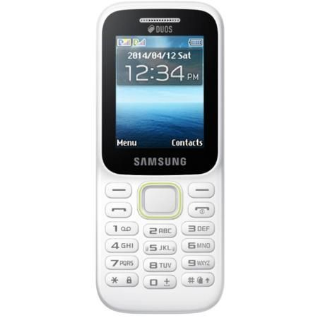 Samsung B310E Duos Белый  — 1890 руб. —  SIM-карты 2 SIM