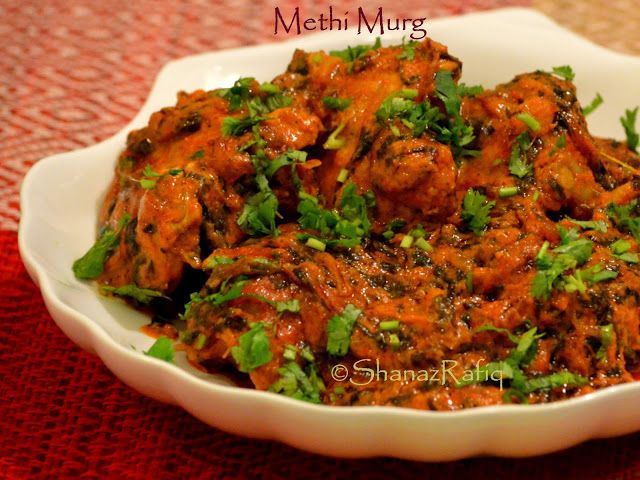 LOVE TO COOK: Quick & Easy Methi Chicken Recipe | Methi Chicken - http://www.shanazrafiq.com/2016/03/quick-easy-methi-chicken-recipe-methi.html