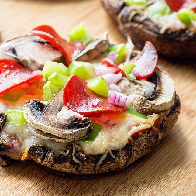 Portobella Pizza Caps | Skinny Mom | Where Moms Get the Skinny on Healthy Living