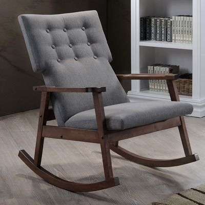 wholesale interiors baxton studio rocking chair reviews wayfair chambre b b pinterest. Black Bedroom Furniture Sets. Home Design Ideas
