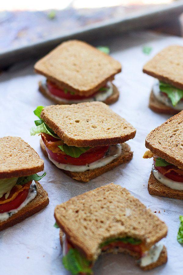 Mini BLT Sandwiches | POPSUGAR Food
