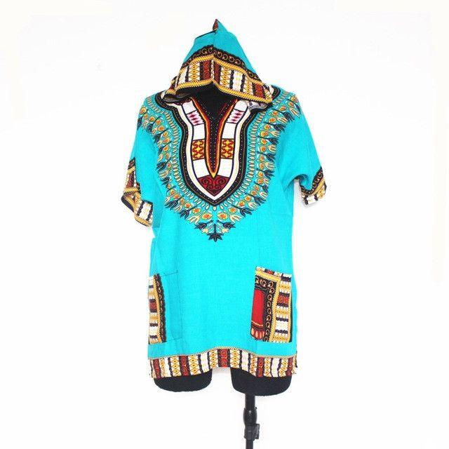 New Design Dashiki Hoodies For Teenagers African Print Dashiki Hood Fashion Streewear hoodies for Girls and Boys