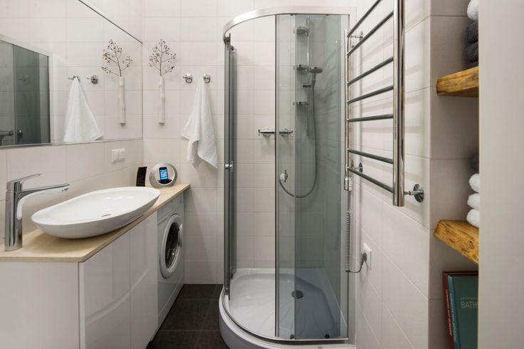 Фото из статьи: Маленькая ванная комната: 5 беспроигрышных советов по…