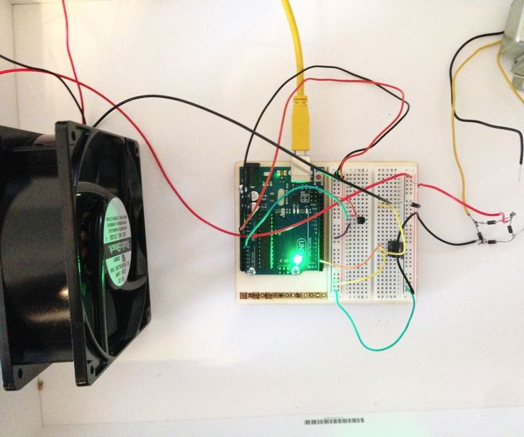 This instructable will take you through the steps necessary to create your own temperature controlled fan using an old computer fan. The materials that you will need are listed below.1 x 12VDC computer Fan ($7.00 from Amazon)1 x 120V / 12.6 V Transformer ($5.49 from radio shack) 1 x Arduino Uno Microcontroller1 x NPN MOSFET (IRF520 Power MOSFET)1 x Arduino Temperature Sensor5 x Diode (found in unused electronics around the house)1 x Outlet Connector (found in old electronics) WireWire…