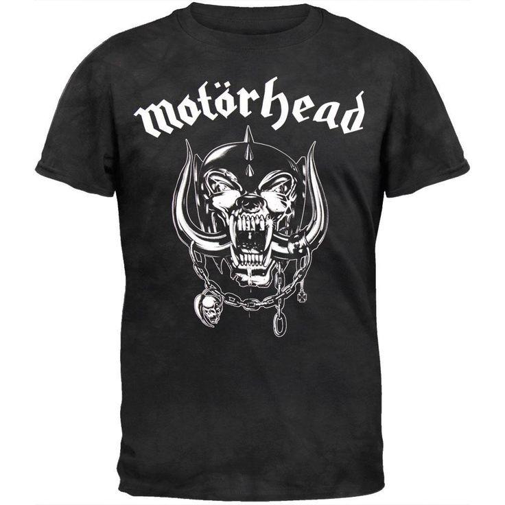 Motorhead - Logo Tie Dye T-Shirt