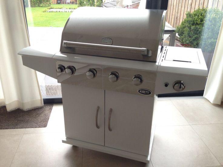 Boretti Davinci Bianco | gas barbecue | outdoor | luxe buitenkeuken | tevreden klant |  https://www.kitchenoutlet.nl/barbecue_outdoor