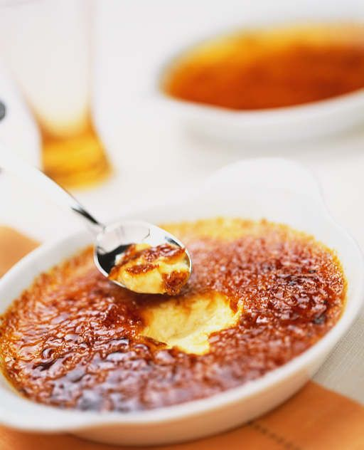 Low Carb Creme Brulee  Serves 4 to 6  Ingredients 2 cups half and half 10 packets Splenda 2 teaspoons real vanilla extract trace of ...