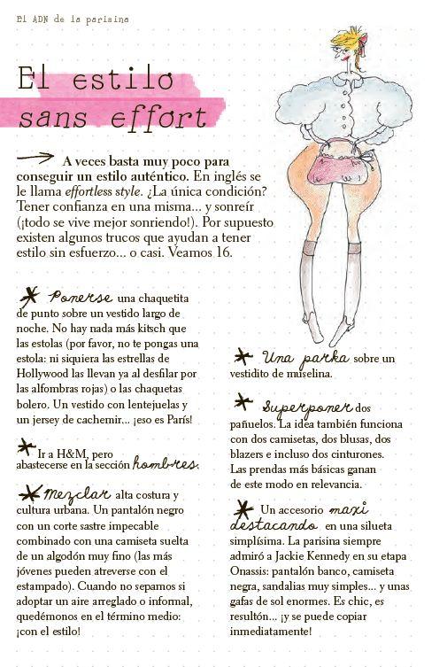 La parisina - Guia de Estilo de Ines de la Fressange
