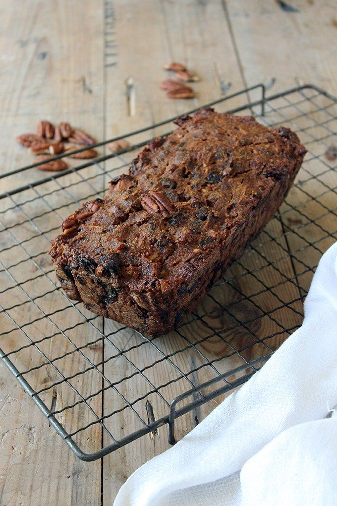 Gluten-Free Banana Loaf with Dates and Pecans | Gluten Free, Refined Sugar Free, Fat Free | Veggie Desserts Blog