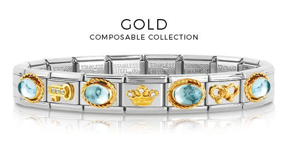 Composable Collection | Nomination Italy #nominationitaly #composable #bracelet