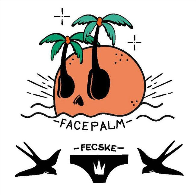 Facepalm - Set of 2 – TATZ temporary designer tattoo