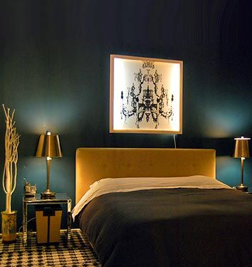 House of Turquoise: Peacock Blue Bedrooms