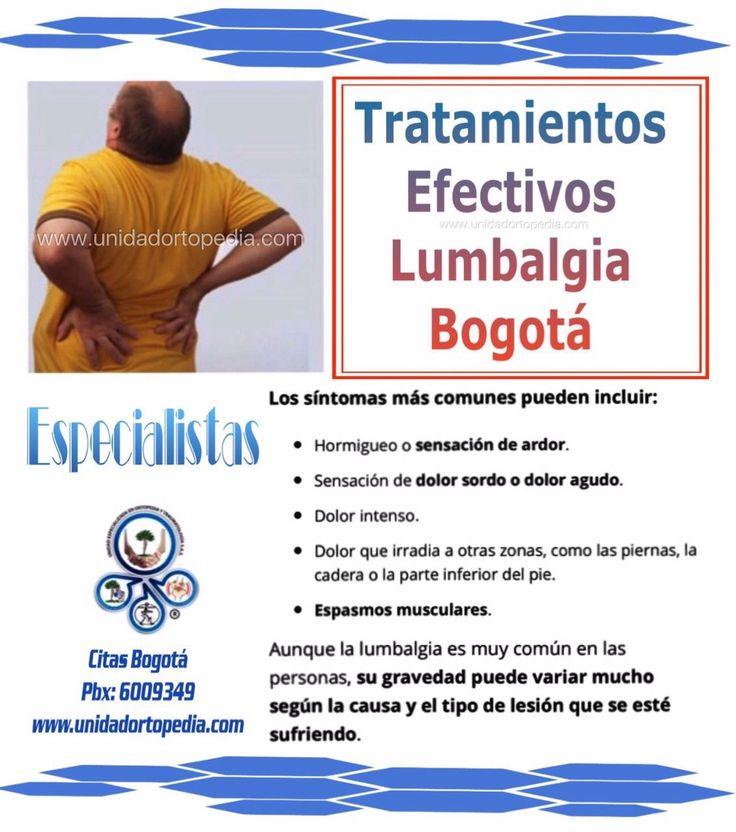 Tratamientos para el dolor de la columna baja o lumbar. Lumbalgia mecánica. Lumbago. La Unidad Especializada en Ortopedia y Traumatologia www.unidadortopedia.com PBX: +571-6923370, Móvil: +57-3175905407, Bogotá, Colombia.