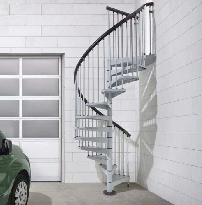 Best Fontanot Sky Exterior Interior Spiral Stair Kit Stair 400 x 300