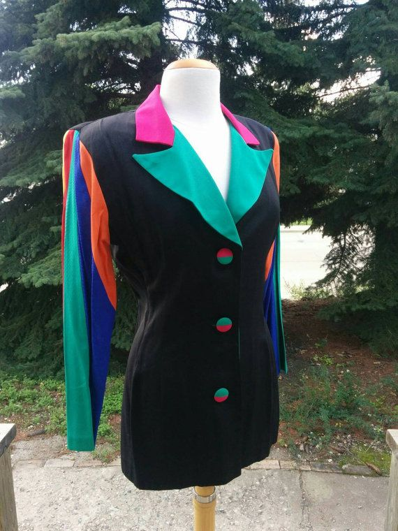 Check out this item in my Etsy shop https://www.etsy.com/listing/468558395/vintage-80s-90s-loriann-black