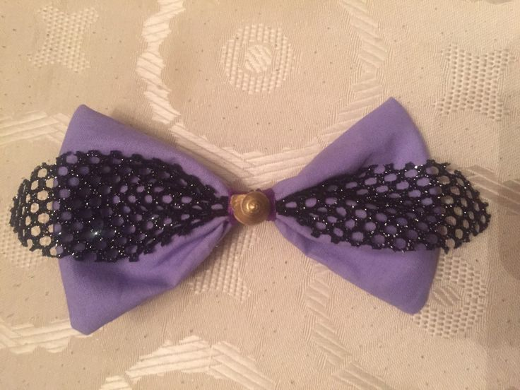 #Ursula #Bow by #ShaLuca #disneyinspired