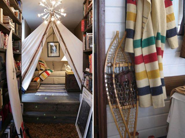 hbcPoint Blankets, Living Rooms, Indoor Tents Diy, Indoor Camps, Goulet Design, Bays Point, Amazing Kids Room, Indoor Teepe Diy, Hudson Bays Blankets