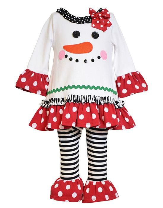 Toddlers Christmas Dress