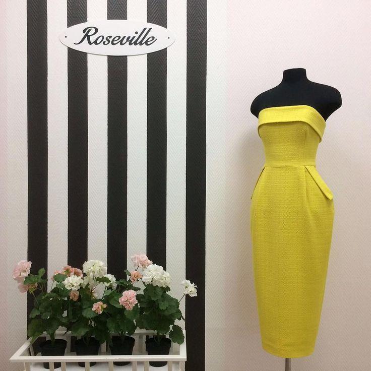 New arrivals ☀️ Платье-бюстье Roseville SS17 #rosevillestyle