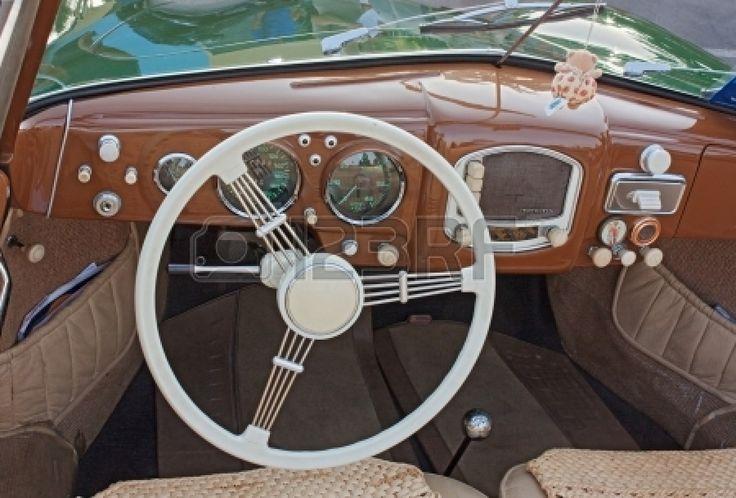 old car dashboard design Google Search Vintage