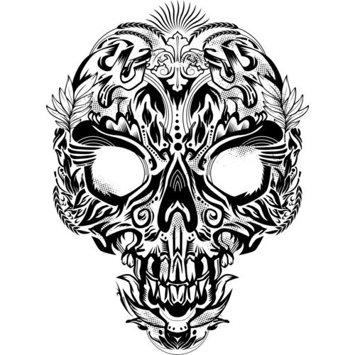 Batik Skull is a Men's T Shirt designed by arace to illustrate your life and is available at Design By Humans