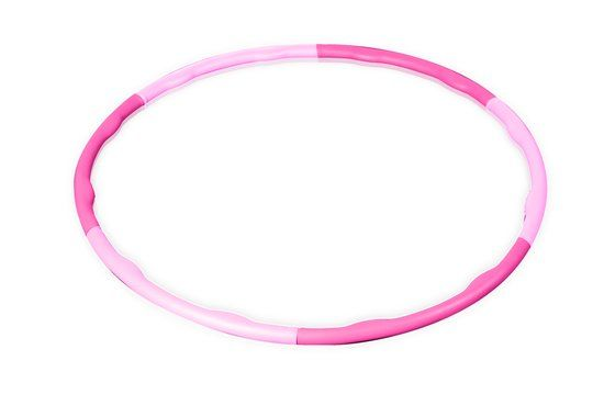 Gymstick - Fitness Hoelahoep - 0.75 kg - Inclusief Trainingsvideo's - Roze