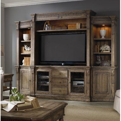 Hooker Furniture Sorella Entertainment Center for TVs up to 70″