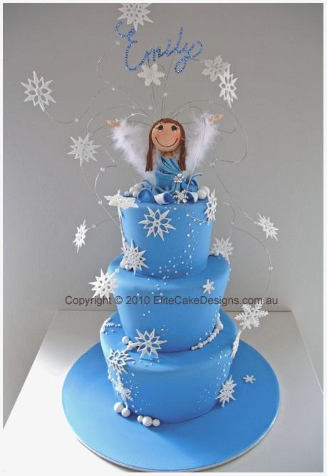 wonderland winter cake