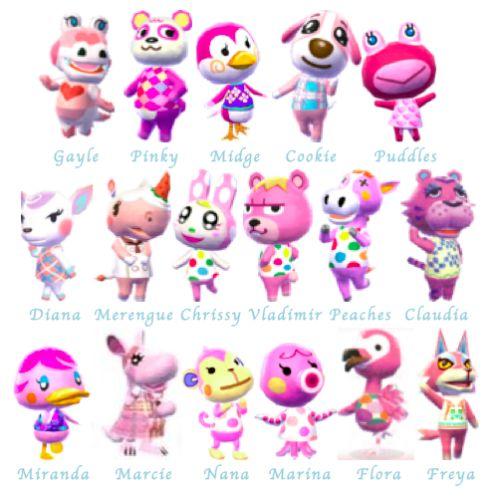 Animal Crossing Cat Villagers List