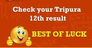 Tripura Higher Secondary Result 2017