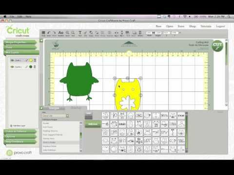 Easy Design Tip for Cricut Craft Room Video