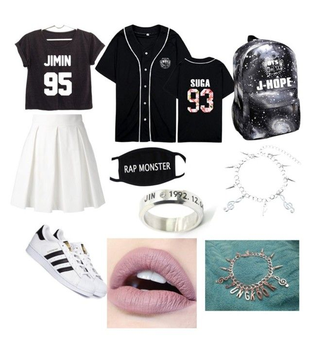 """""""Untitled #58"""" by valentina-carvajal92005 on Polyvore featuring Boutique Moschino and adidas"""