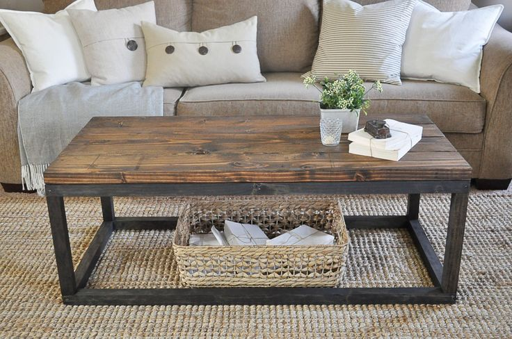 Industrial Coffee Table DIY