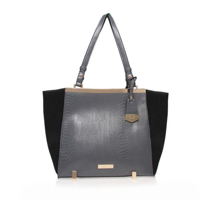 cecile tote bag, black/other bag by carvela kurt geiger - women