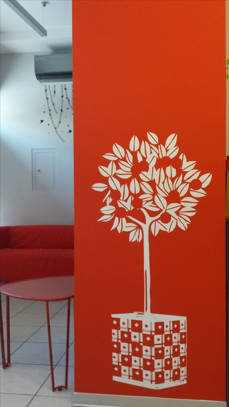 Lemon tree wall sticker by AgentVenus https://www.fantastick.gr/artworks/lemon-tree-2/