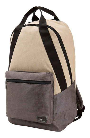 Volcom 'On the Go' Canvas Backpack available at #Nordstrom