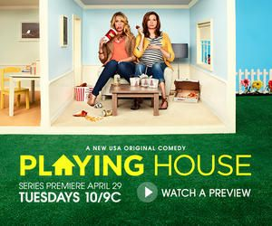 Playing House | USA Network. So glad to finally add a comedy to my must-see scripted shows board!  :)