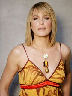 Nicole Walker played by Arianne Zucker  (Debut:   1998)    Has been married to EJ DiMera and many others.