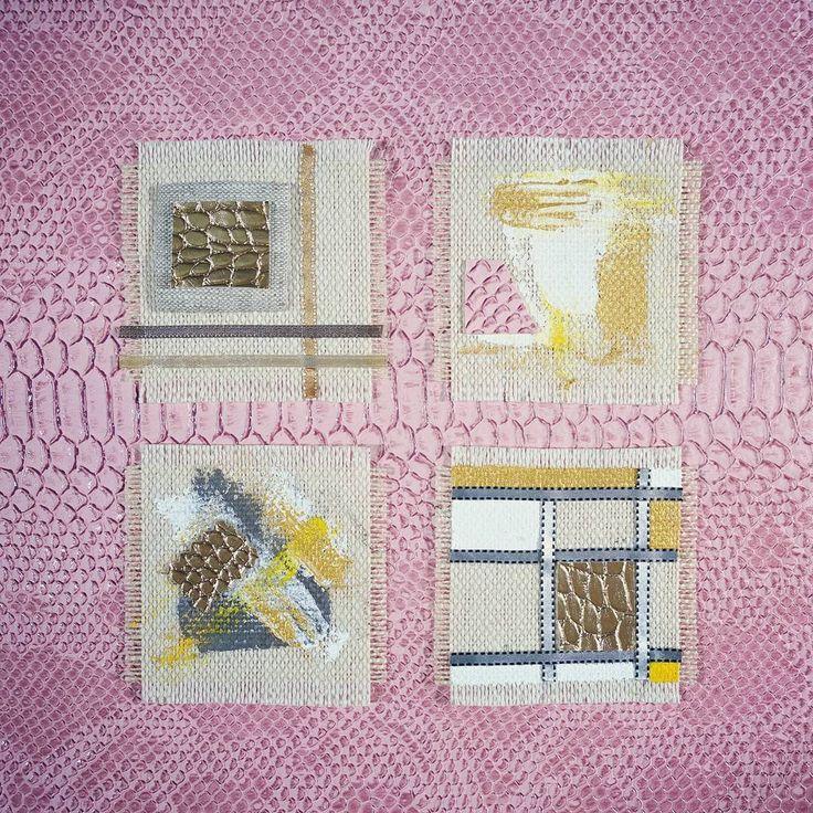 """0 mentions J'aime, 1 commentaires - Puce & Lou (@puce.et.lou) sur Instagram: """"#collection """"comme un #tableau """" #bijou #textile #fabric #jewelry #cadeaux #arttextile #artisanat…"""""""