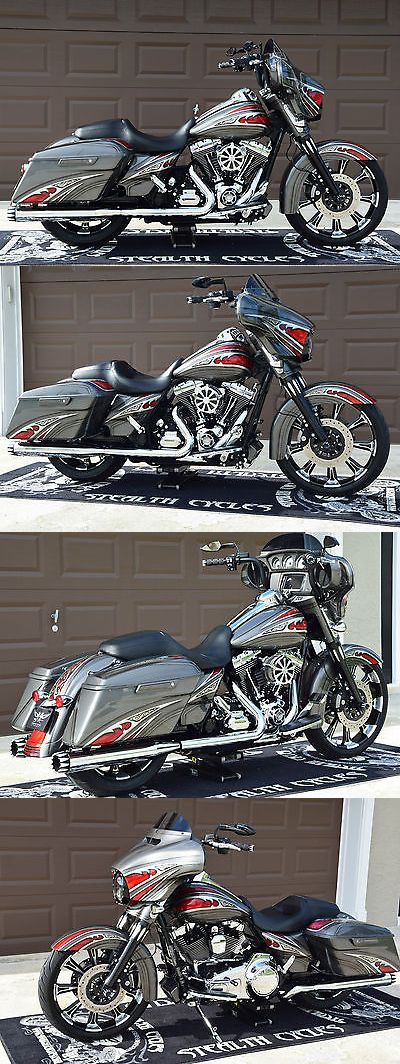 Motorcycles: 2014 Harley-Davidson Touring 2014 Custom Harley Street Glide Special Flhxs Navigation Blowout No Reserve Auct -> BUY IT NOW ONLY: $13100 on eBay!