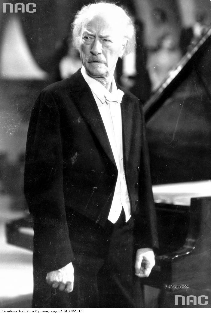 Ignacy Jan Paderewski, 1937.