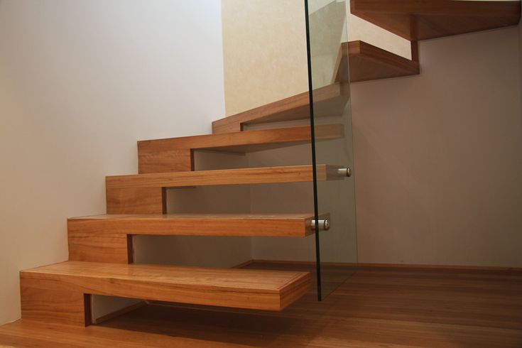 Cantilevered Stairs  #stairs Pinned by www.modlar.com