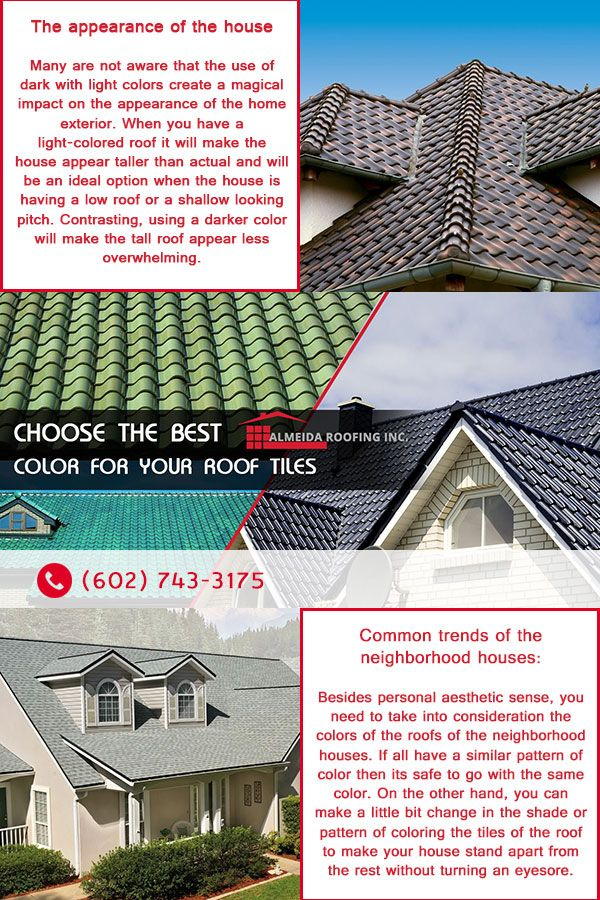 Choose The Best Color For Your Roof Tiles In 2020 Roof Tiles Roofing Roofing Contractors