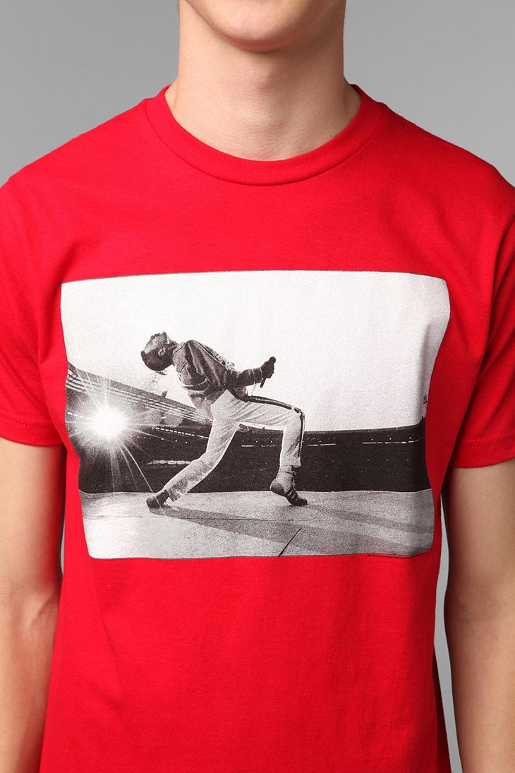 Freddie Mercury On Stage Tee