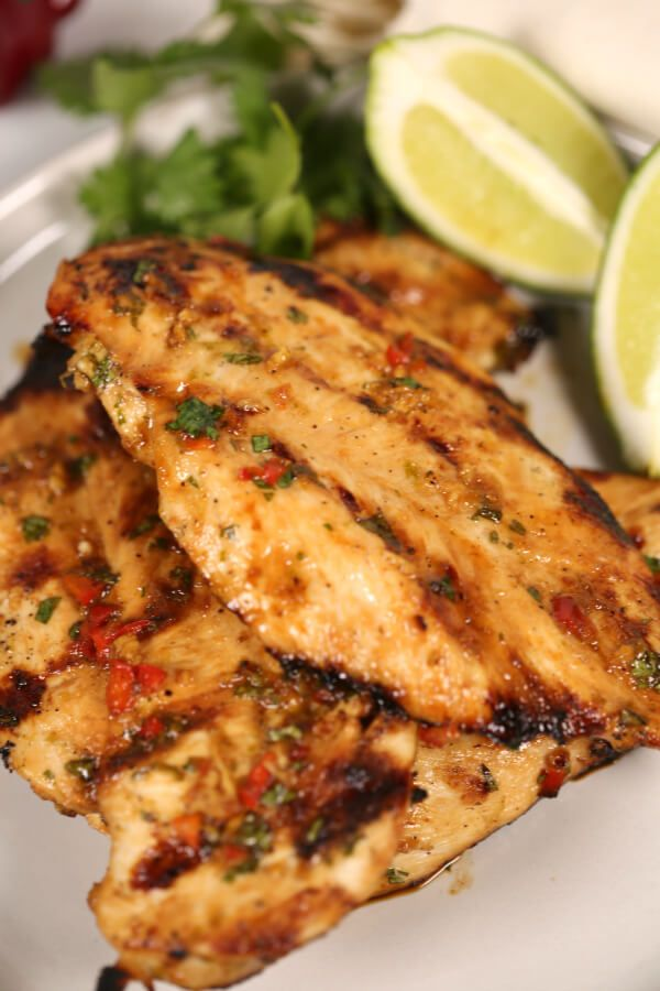 Fiesta Lime Chicken is tender and juicy with perfect Tex ...