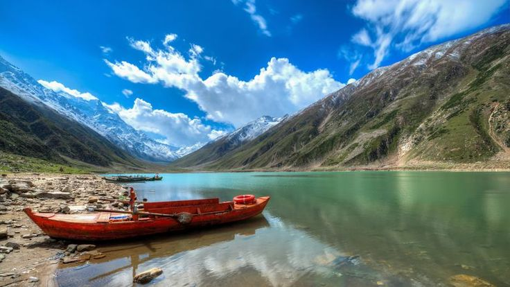 "As Terror recedes, Pakistan Tourism thrives again. Travel Pakistan (Oct, 2017) @bloomberg via @topupyourtrip    After a bone-jarring mountain journey, Alan Cameron surveys the snow-capped peaks of Pakistan's north near the Saiful Maluk lake. ""It's beautiful -- well worth the effort,"" said the 34-year-old Canadian holidaying in a country better known for terrorism than tourism."