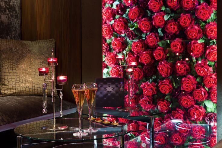 Faites une pause au milieu des roses!